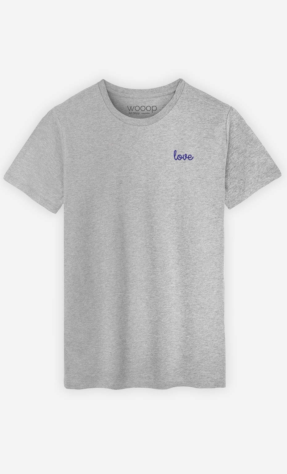 T-shirt Love - brodé