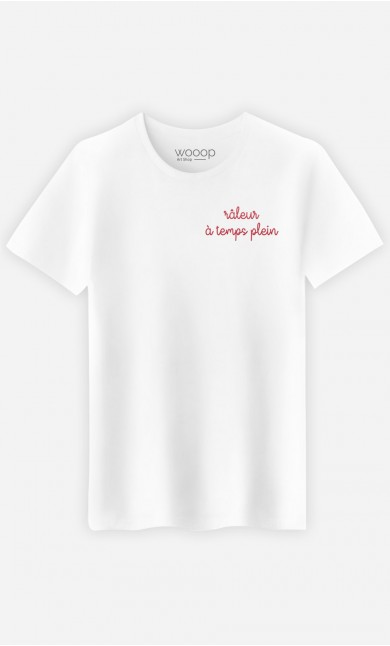 T-shirt Râleur à temps plein - brodé