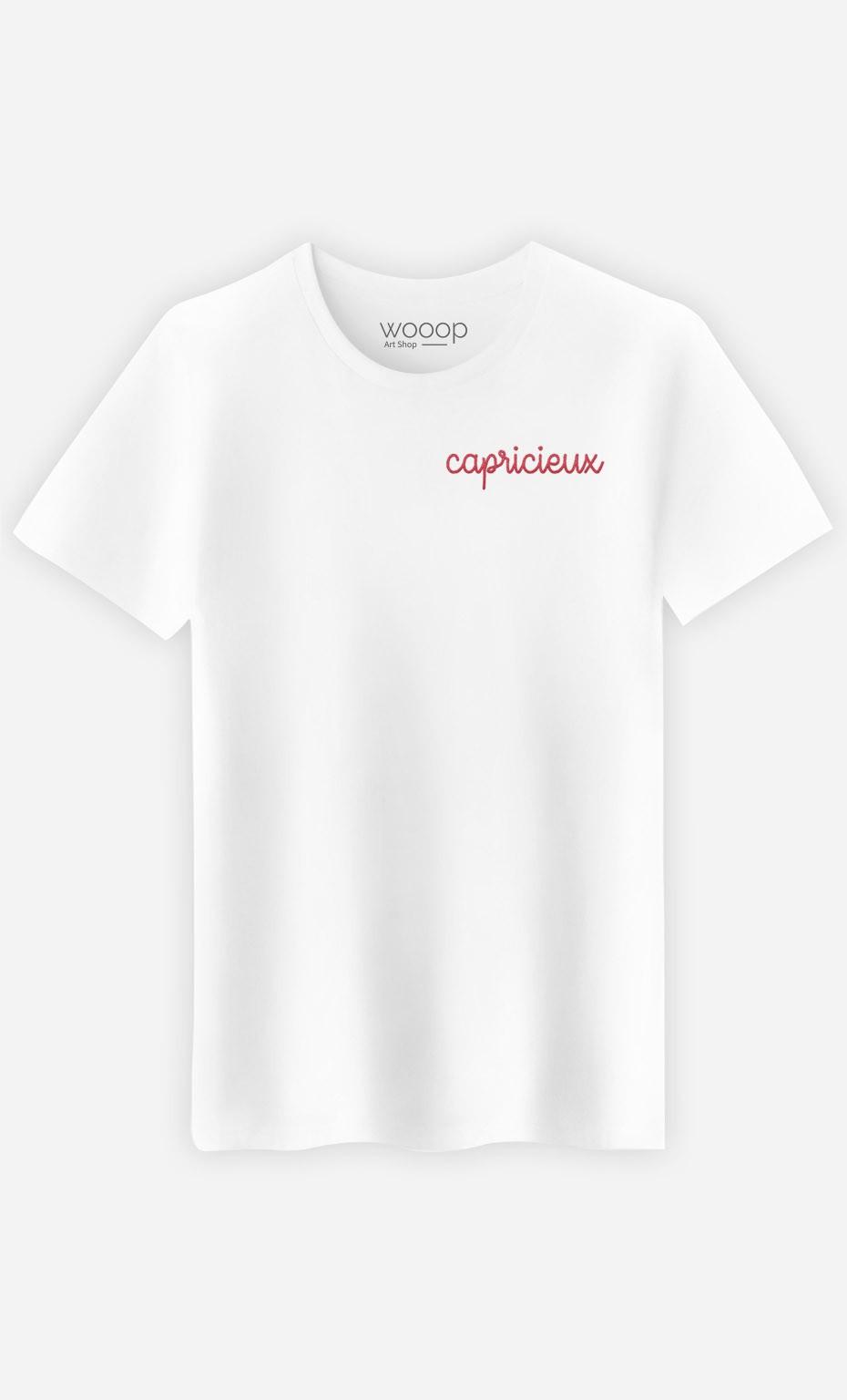 T-shirt Capricieux - brodé