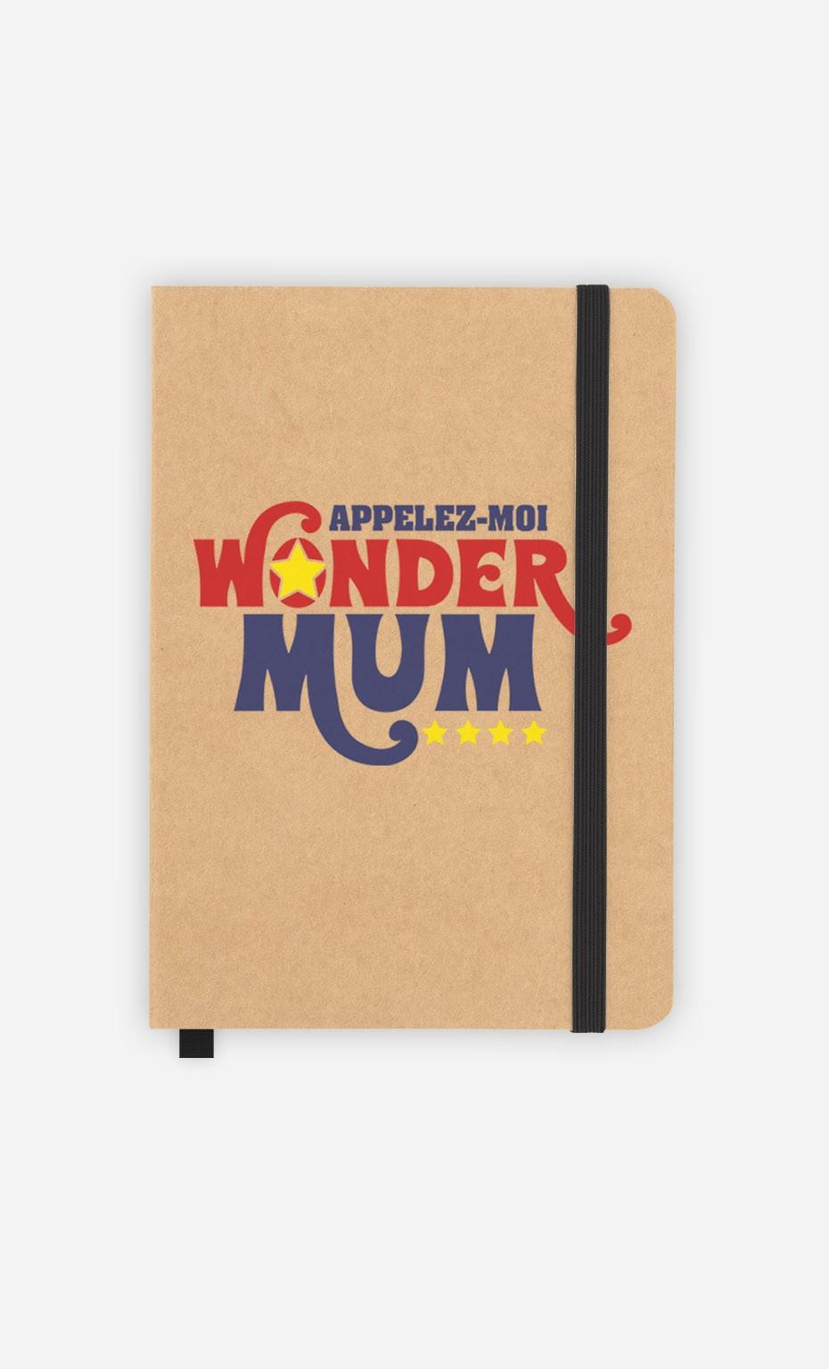 Carnet Appelez-Moi Wonder Mum