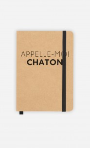 Carnet Appelle-Moi Chaton