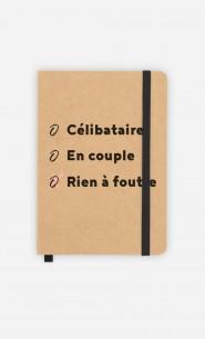 Carnet Célibataire - En Couple - Rien à Foutre