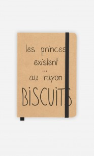 Carnet Les Princes Existent au Rayon Biscuits