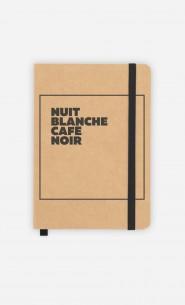 Carnet Nuit Blanche Café Noir