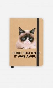 Carnet Grumpy Cat