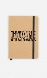 Carnet Impossible n'est pas Français