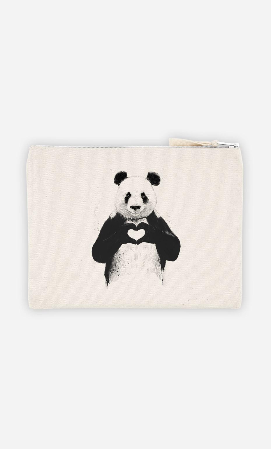 Pochette Love Panda
