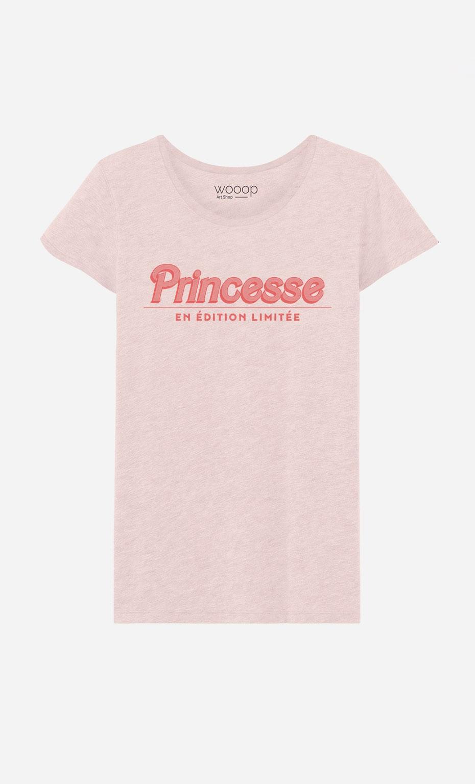 T-Shirt Princesse En Edition Limitée