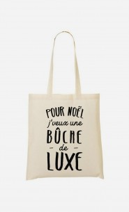 Tote Bag Bûche De Luxe