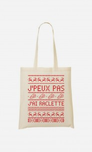 Tote Bag J'peux Pas J'ai Raclette