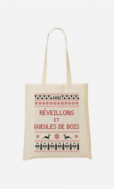 Tote Bag Réveillons Et Gueules De Bois