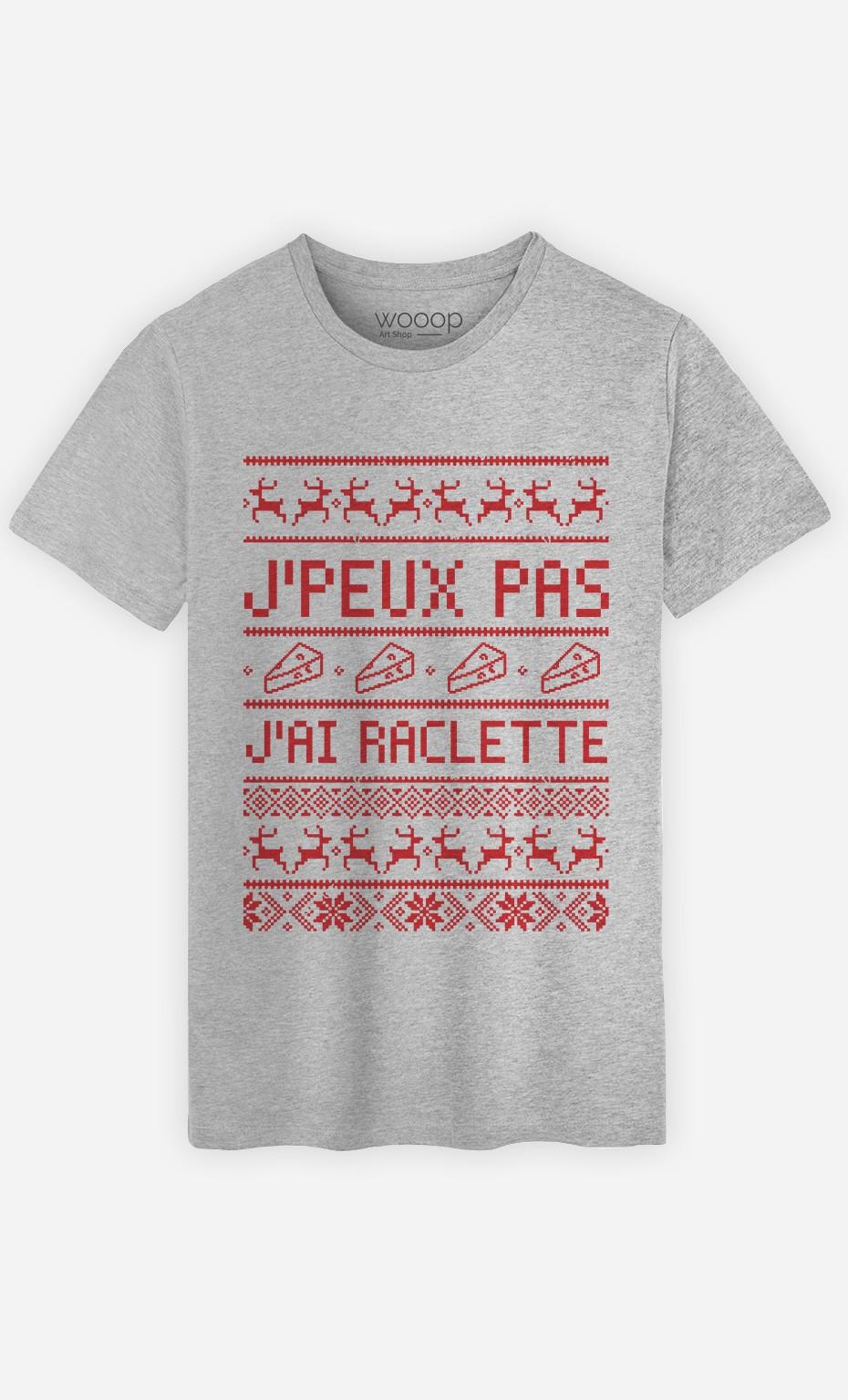 T-Shirt J'peux Pas J'ai Raclette