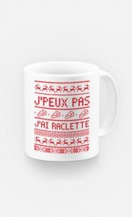 Mug J'peux Pas J'ai Raclette