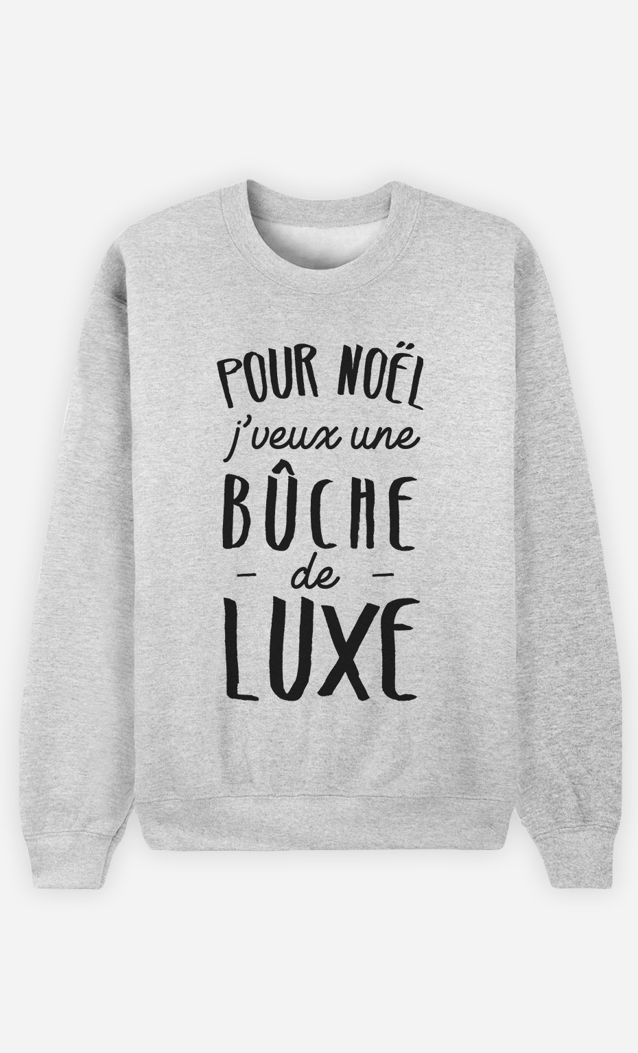 Sweat Bûche De Luxe