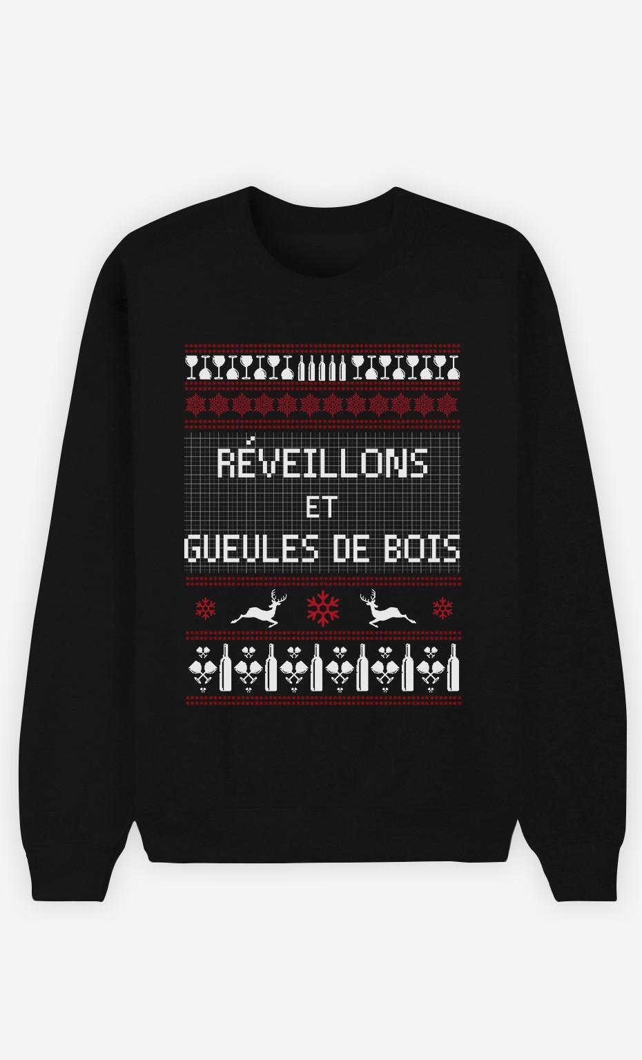 Sweat Réveillons Et Gueules De Bois