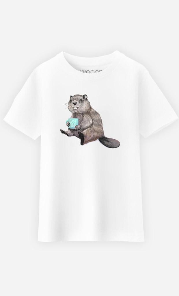 T-Shirt Enfant Beaver