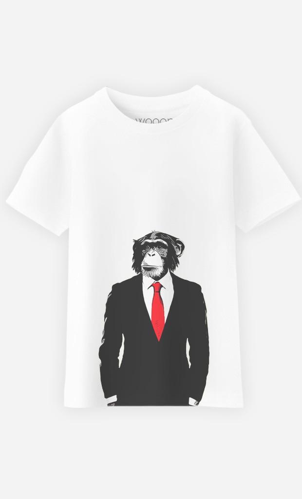 T-Shirt Enfant Business Monkey