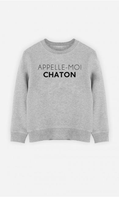 0b4f85c58171 T-Shirts   Sweats à messages de la collection Appelle-Moi. Wooop.fr ...