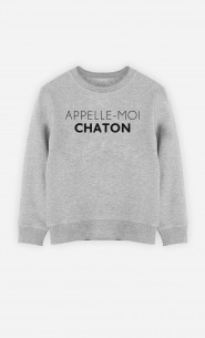 Sweat Appelle-Moi Chaton