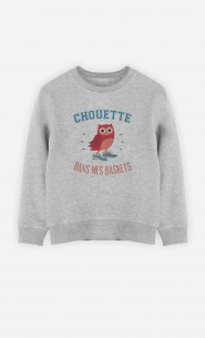 Sweat Chouette Dans Mes Baskets