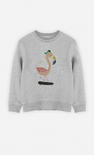 Sweat Flamingo Skater