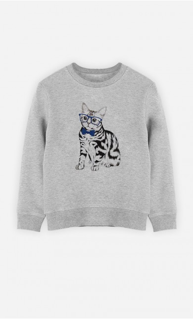 Sweat Hipster Cat