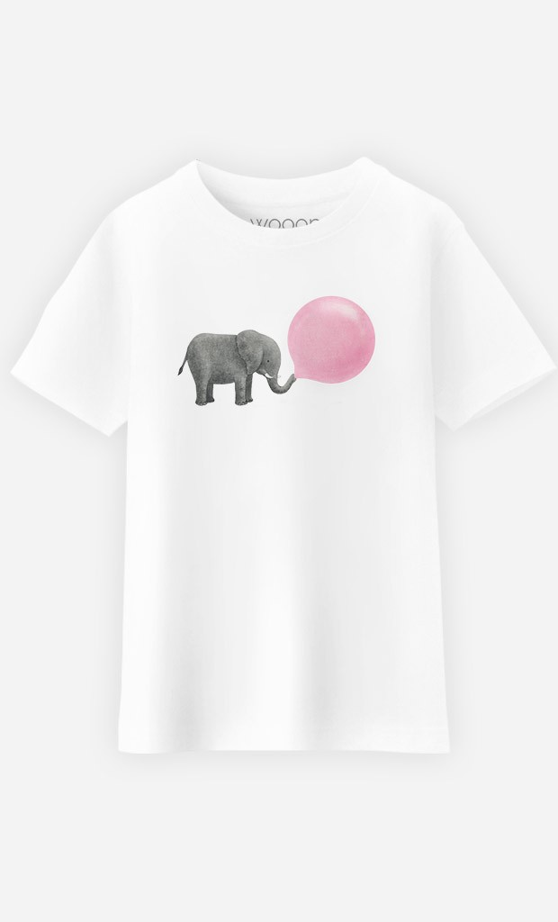 T-Shirt Enfant Jumbo Bubble Gum