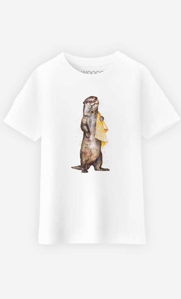 T-Shirt Enfant Otter
