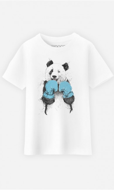 T-Shirt Enfant The Winner Panda