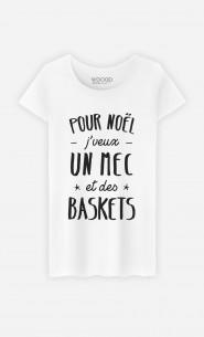 T-Shirt J'veux Un Mec Et Des Baskets