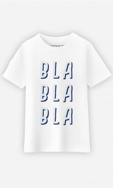T-Shirt Blablabla Bleu