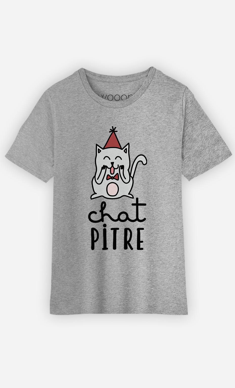 T-Shirt Chat-Pitre
