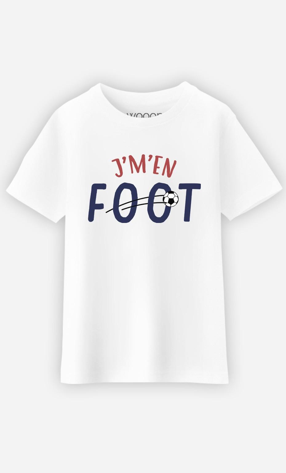 T-Shirt J'm'en Foot