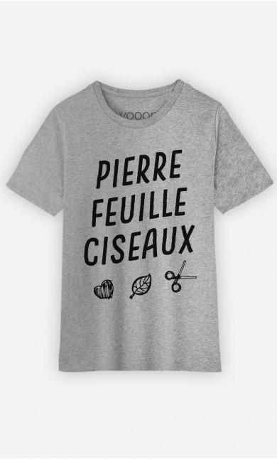 T-Shirt Pierre Feuille Ciseaux