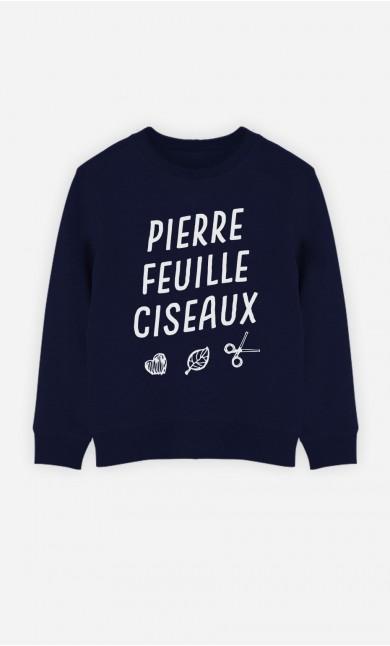 Sweat Pierre Feuille Ciseaux