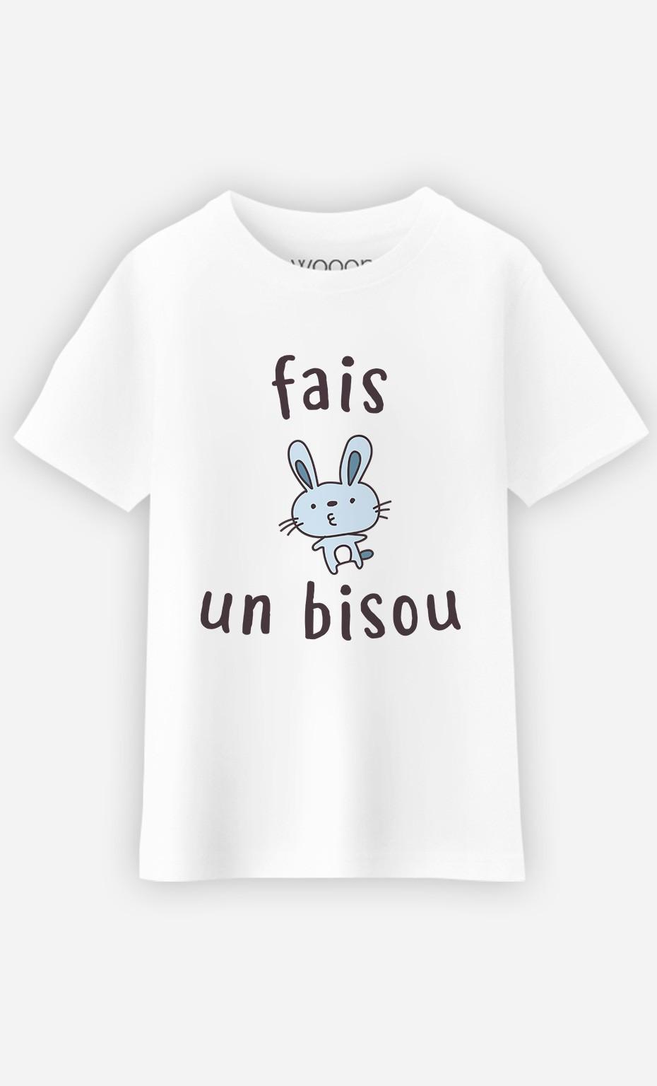 T-Shirt Fais Un Bisou