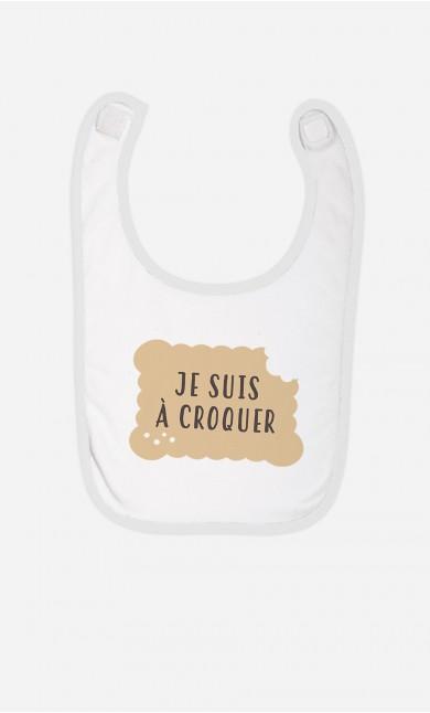 Bavoir Je Suis A Croquer