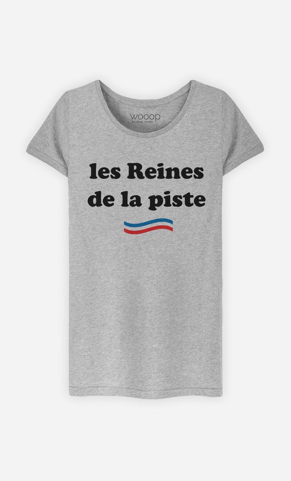 T-Shirt Les Reines De La Piste