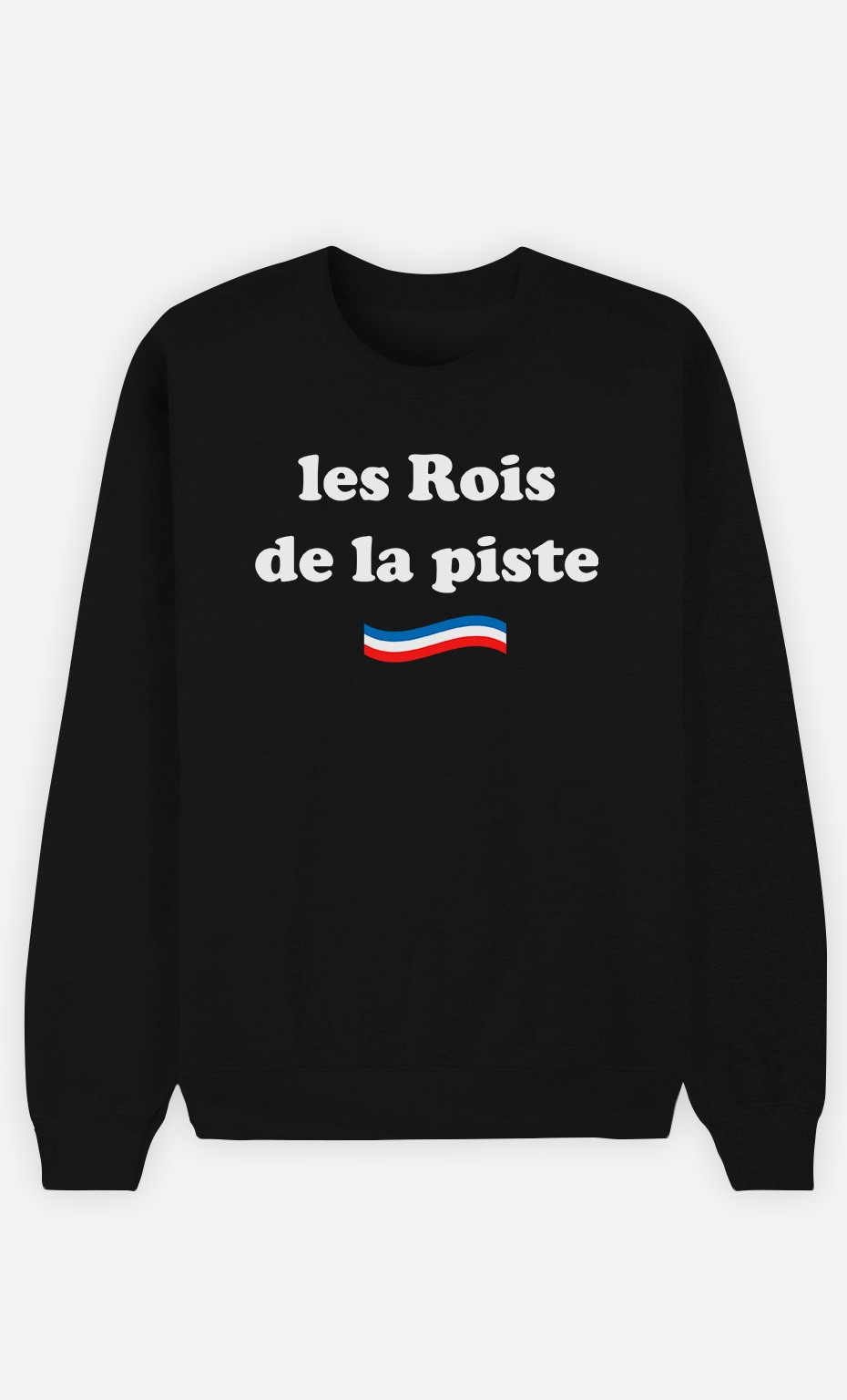 Sweat Noir Les Rois De La Piste