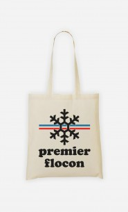 Tote Bag Mon Premier Flocon