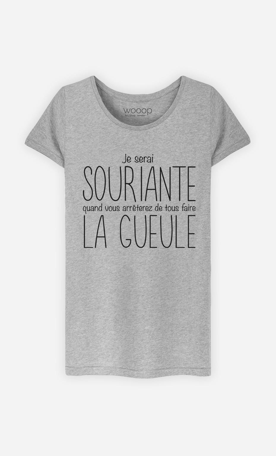 T-Shirt Je Serai Souriante