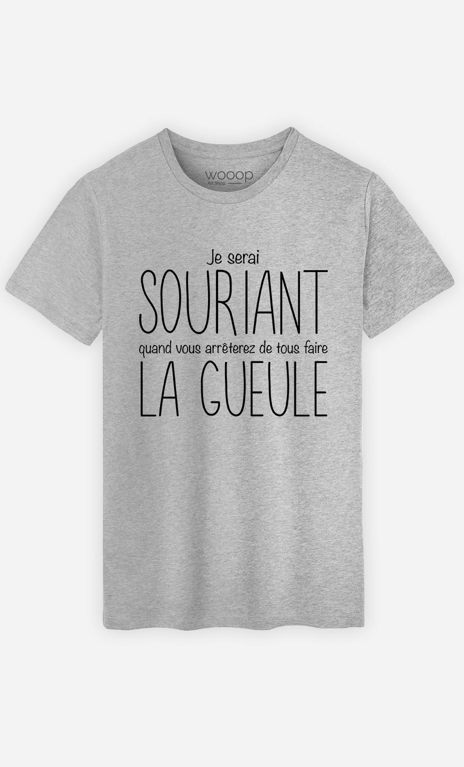 T-Shirt Je Serai Souriant