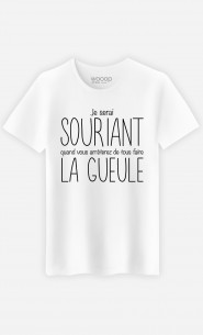 T-Shirt Je Serai Souriant