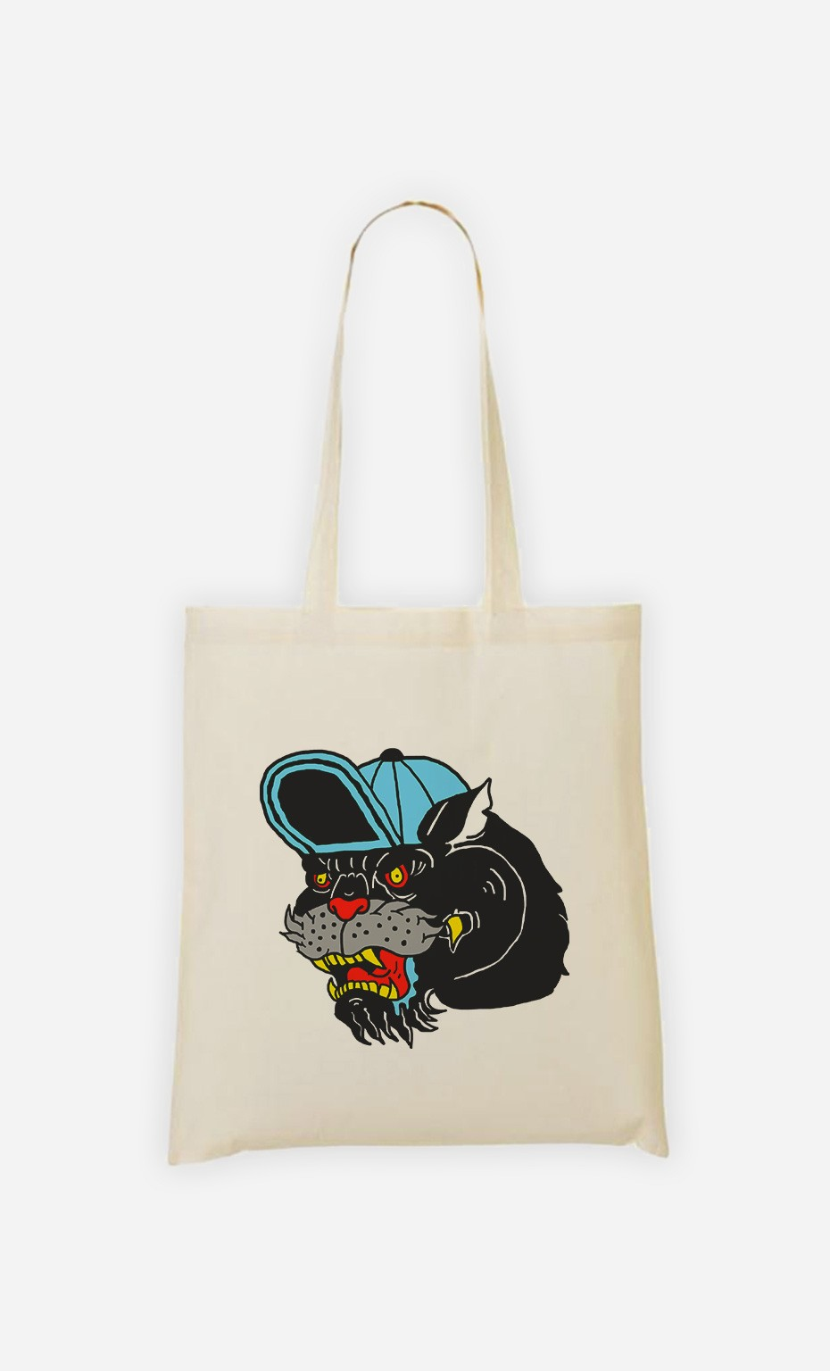 Tote Bag Panther Cap