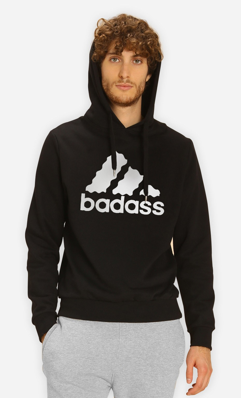 Sweat à Capuche Badass