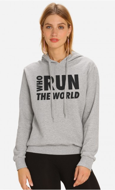 Sweat à Capuche Who Run The World