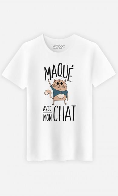 T-Shirt Maqué avec mon chat