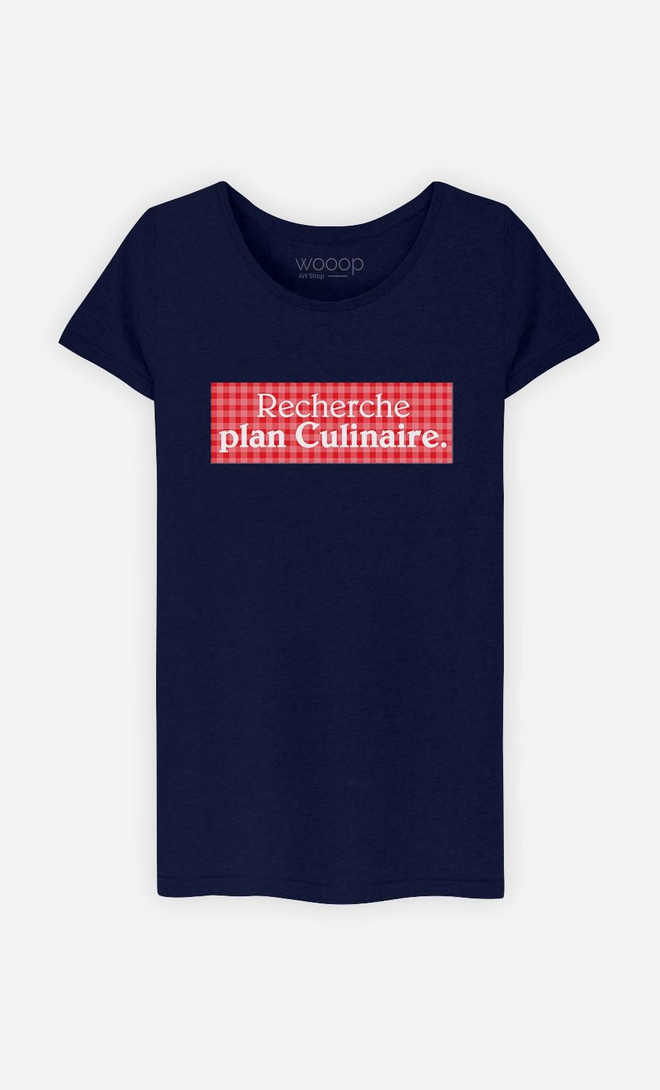 T-Shirt Recherche plan culinaire