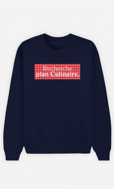 Sweat Bleu Recherche plan culinaire
