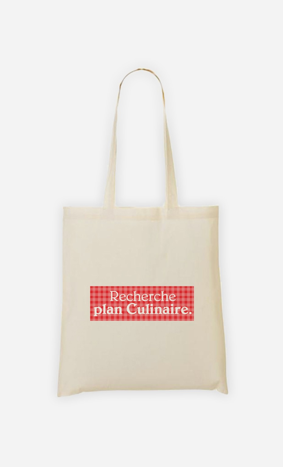 Tote Bag Recherche plan culinaire